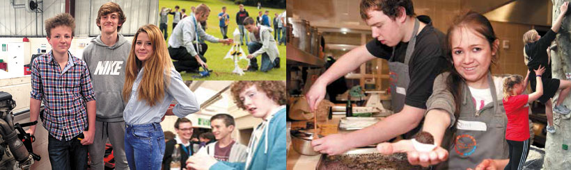 Taster days and workshops at Buxton Leek college