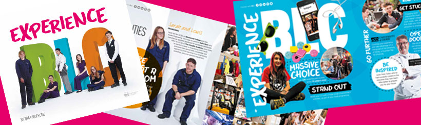 Buxton and Leek college prospectus