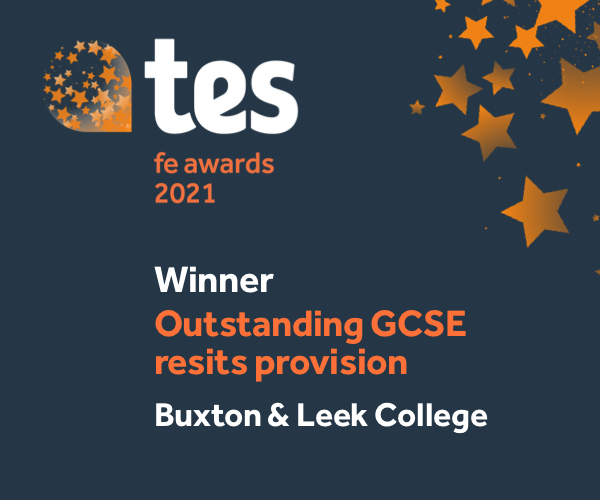 TES Winner - Outstanding GCSE resits provision